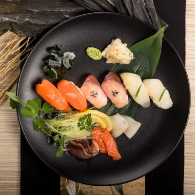 sushi ja sashimi