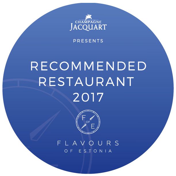 Recommended restaurant 2017