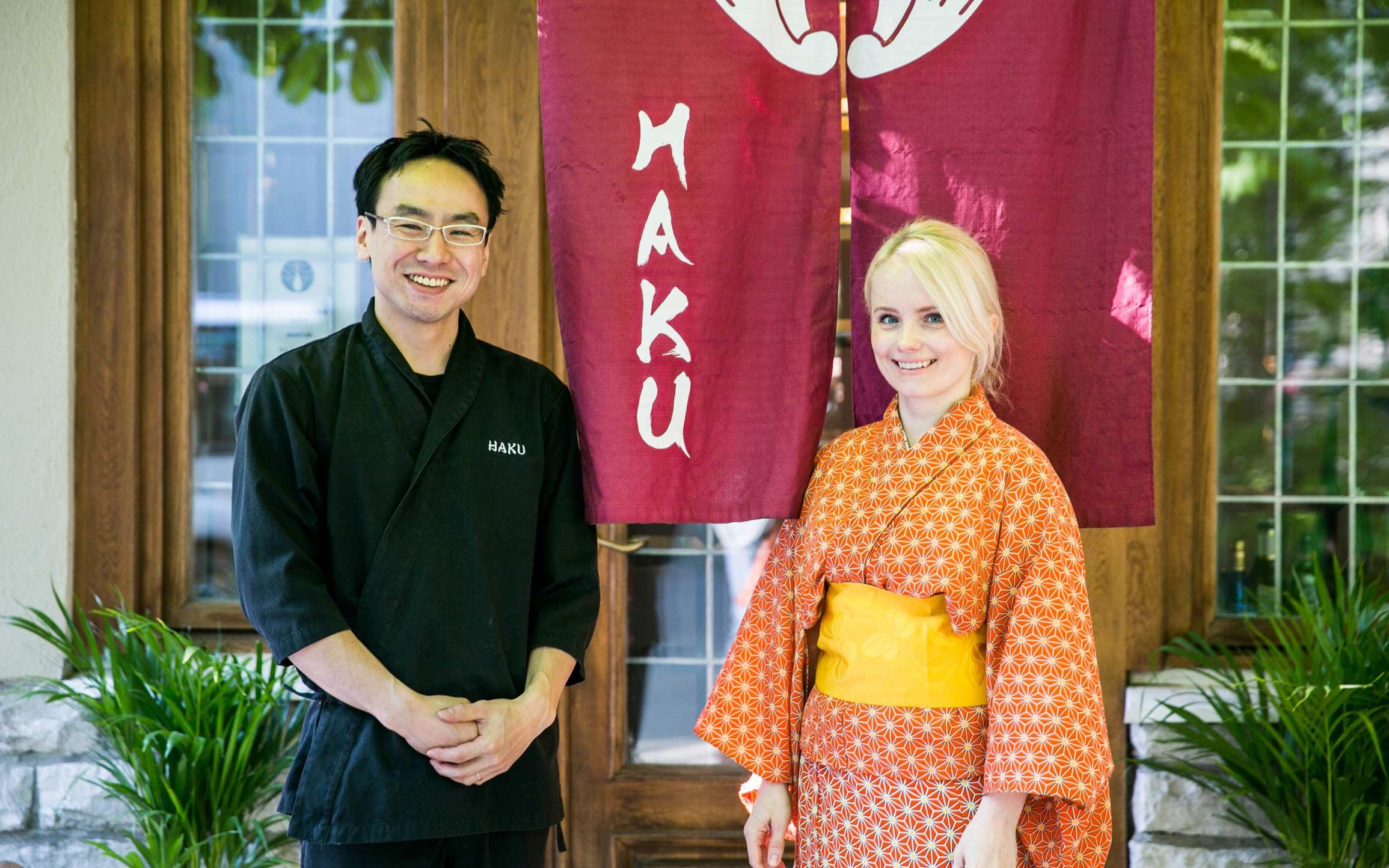Shuichi Shiraishi ja Marju Shiraishi