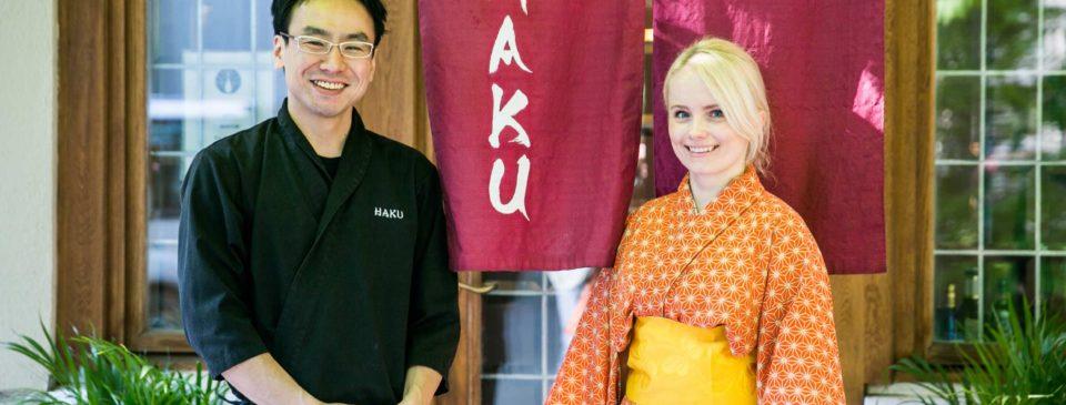 jaapani restoran Haku